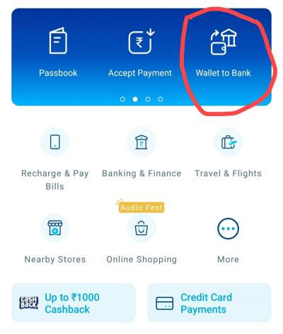 How To Transfer Money From Paytm Wallet To Bank 0% Charges