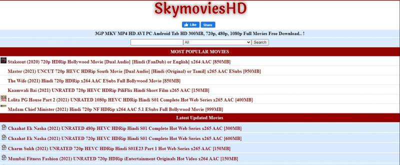 SkymoviesHd 2021 Live Link: Download Bollywood, Hollywood Movies, Web Series