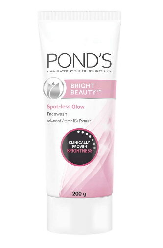 Pond's Bright Beauty Spot-less Glow Face Wash With Vitamins
