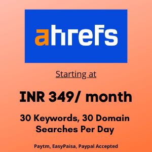 Buy Ahref In 349rs Only