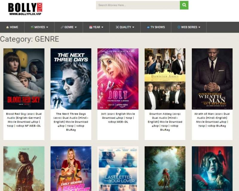 Bollyflix.me 2021 – Download Bollywood, Hollywood, Dubbed  Movies