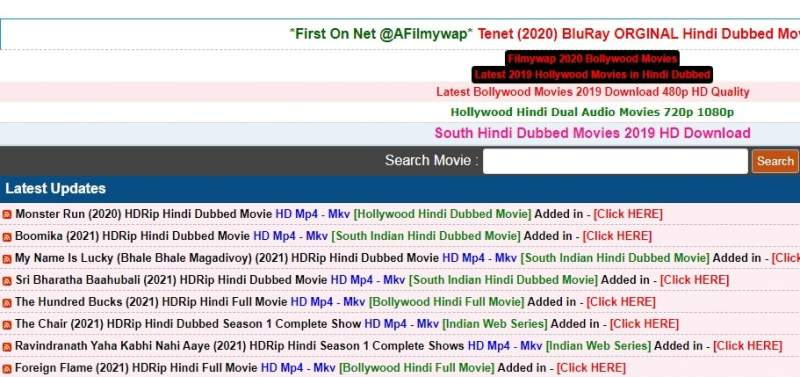 afilmywap.in 2021: ofilmywap Download Hollywood, Bollywood, Dubbed Movies