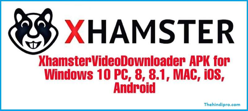 Xhamstervideodownloader Apk For Windows 10 For Pc, Mc or Android